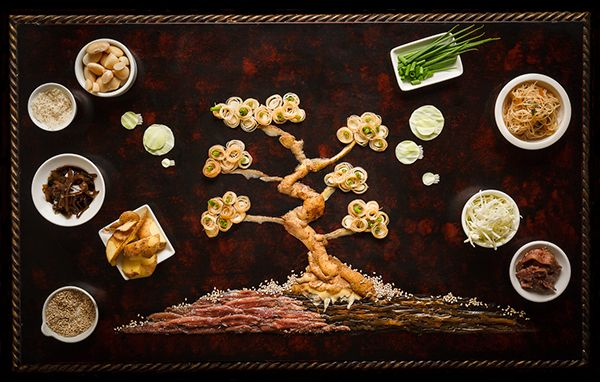 Korean Gastronomy Festival Food Illustration