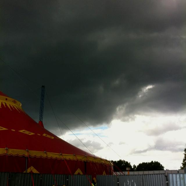 Festival rain