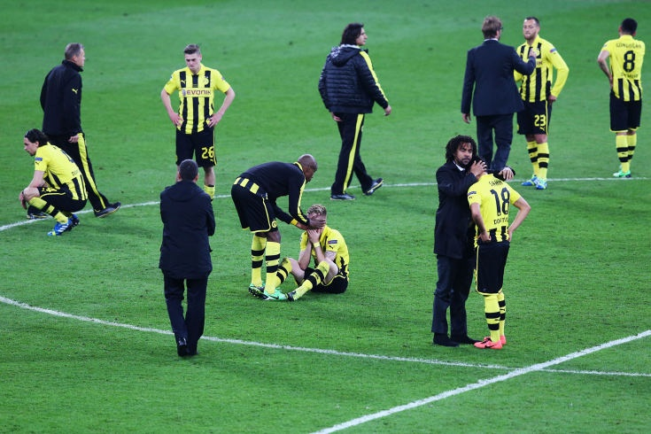 Champions League Finale Wembley FCB Munich against BVB Dortmund - Munich wins 2:1 and the disappointment by players and....