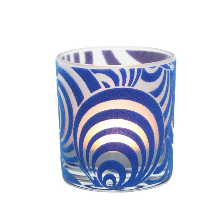 Arte Home  Halka Mavi Retro Mumluk : 24,90 TL   evmanya.com