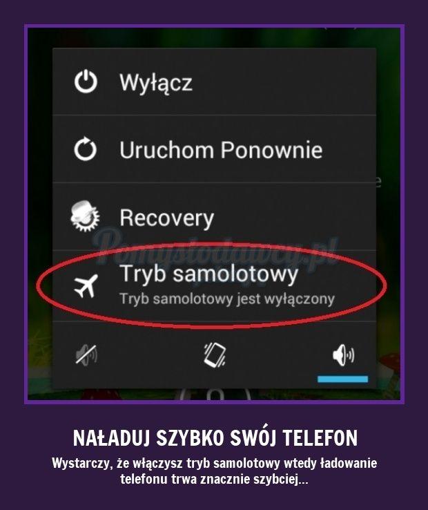 PROSTY TRIK NA SZYBSZE NAŁADOWANIE TELEFONU :)