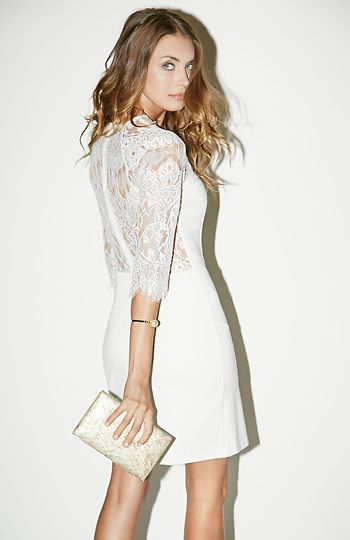 Miss Me white lace Dress