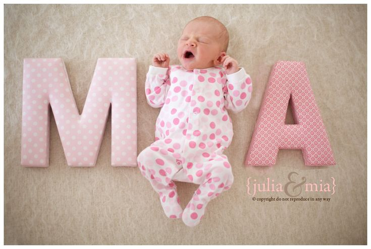 Baby Name Photography Must Do As All Our Shortlisted