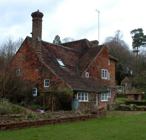 Cotchford Farm, the house where Christopher Robin Milne, son of Winnie the Pooh creator A.A. Milne, grew up.