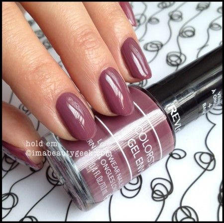 Revlon Gel Envy Hold Em 2014. Click thru to imabeautygeek.com for more Gel Envy Swatches!