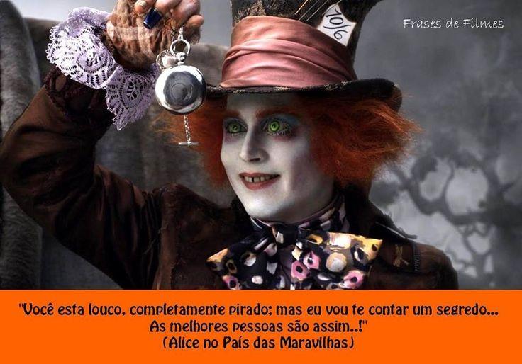 Alice no pais das maravilhas...