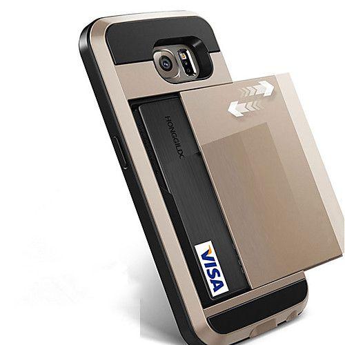 Funda Para Samsung Galaxy S8 Plus S8 Soporte de Coche Cubierta Trasera Color sólido Dura Policarbonato para S8 S8 Plus S7 edge S7 S6 edge 2018 - $7.99