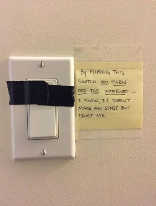 Do not Turn Flip The Switch funny lol humor funny pictures funny photos funny images hilarious pictures