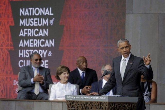 Obama inaugure le musée national d'histoire afro-américaine
