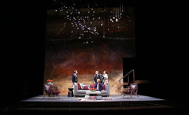 God of Carnage. Theatre Calgary. Scenic design by Patrick Du Wors. 2013