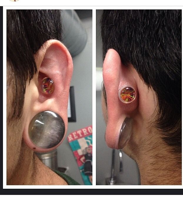 269 Best Body Modification Images On Pinterest: 17 Best Images About Stretched Ears On Pinterest