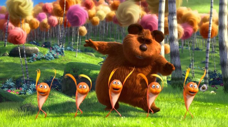 The Lorax mini movie Serenade, via YouTube.