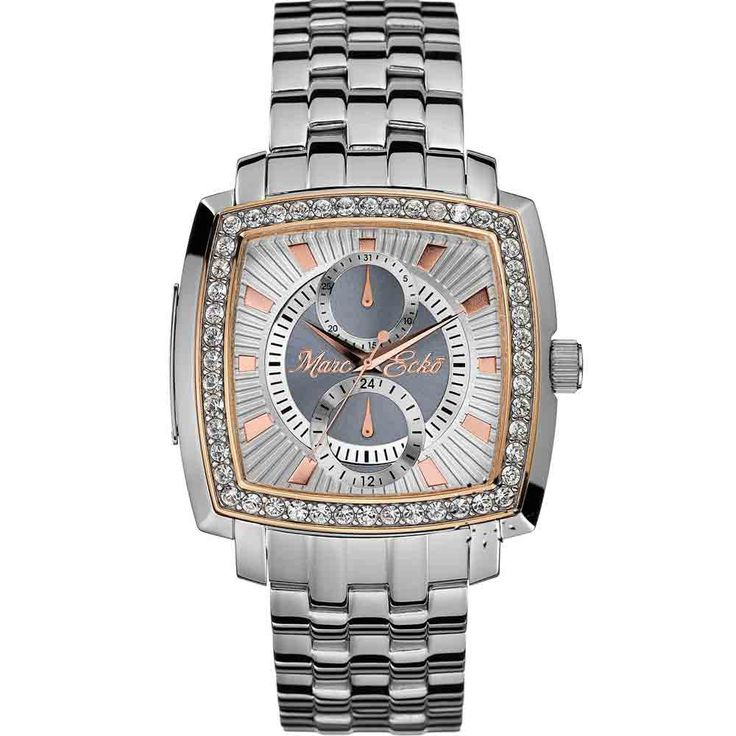 MARC ECKO Silver and Gold Dial Τιμή: 340€ Τιμή Προσφοράς: 145€ http://www.oroloi.gr/product_info.php?products_id=4512