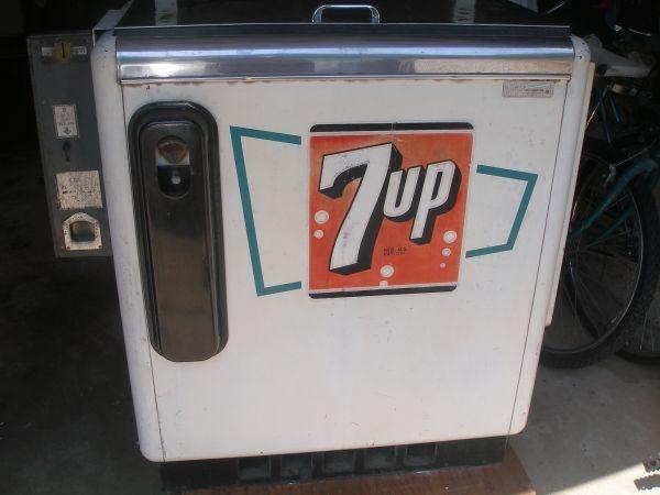 1950 S 7up Ideal 55 Slider Soda Machine Vintage Machines