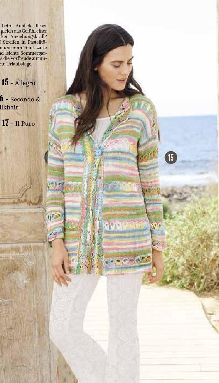 16 besten COLORS No. 2 Bilder auf Pinterest | Pullover stricken ...
