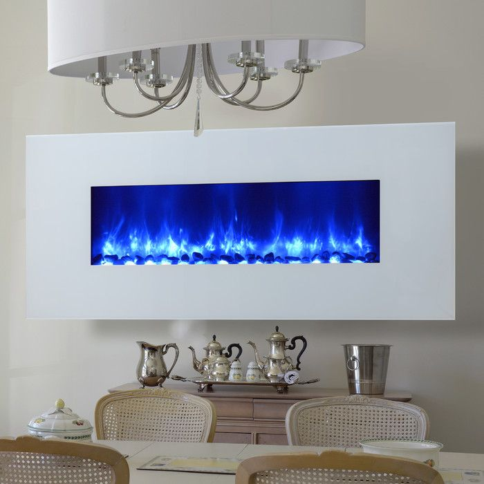 Miami LED Wall Mount Electric Fireplace & Reviews | AllModern
