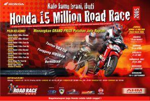 Honda Road Race by msjeje