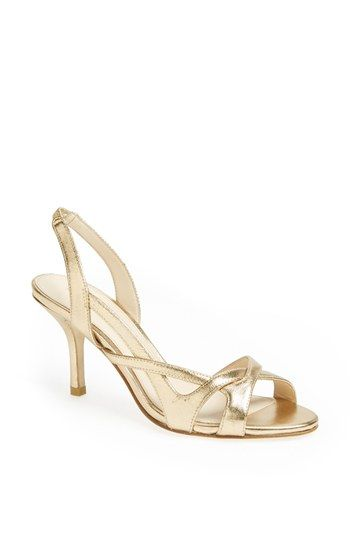 Gold Wedding Shoes Nordstrom Weddings Pinterest