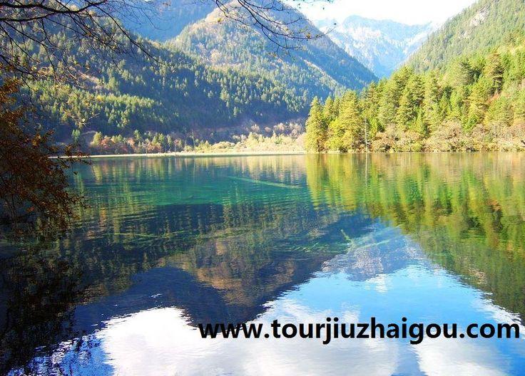 Mirror Lake in Jiuzhaigou