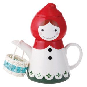 Red Riding Hood Tea For One Set, $32, now featured on Fab.