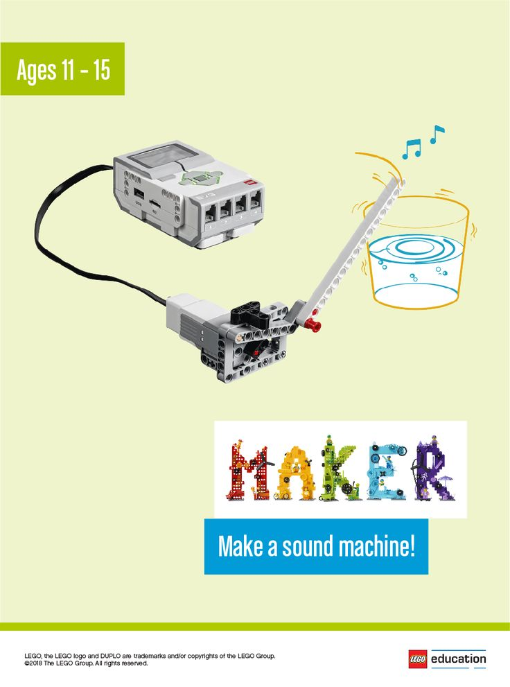 Work with your students to make sound machines that can play a rhythm, music or just noise! Ask your students what they would like their sound machine to do, then independently brainstorm different ways to make their own. They can tinker with LEGO® bricks or sketch out ideas on their worksheets. Make sure the students spend time tinkering with the bricks to spark creativity and test and analyze their ideas as they go. Once the sound machines are complete, have the students share what they…
