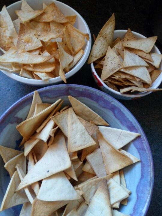 Best ever homemade corn chips
