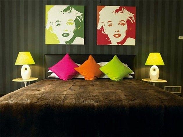 18 Chic Interior Designs Inspired By Pop Art