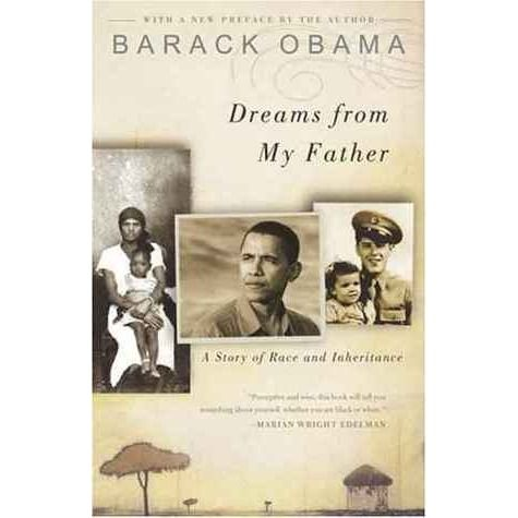 Dreams from My Father. I really enjoyed it. I listened to it on audiobook. He's a great narrator, and I was a little shocked at how little I actually knew about his background. Very interesting!