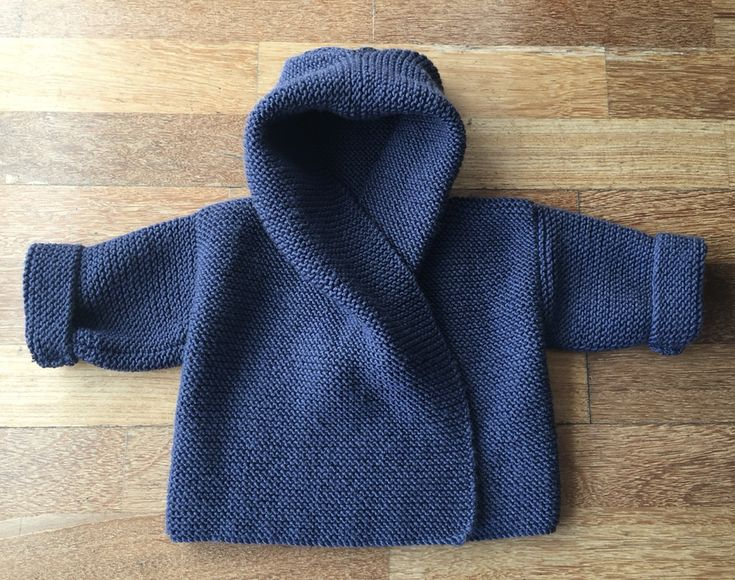 Ravelry: Baby Hooded Wrap Cardigan by Audrey Wilson