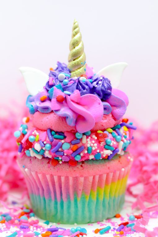 Unicorn Cupcakes For A Birthday Party These Are Absolutely Adorable Unicornparty
