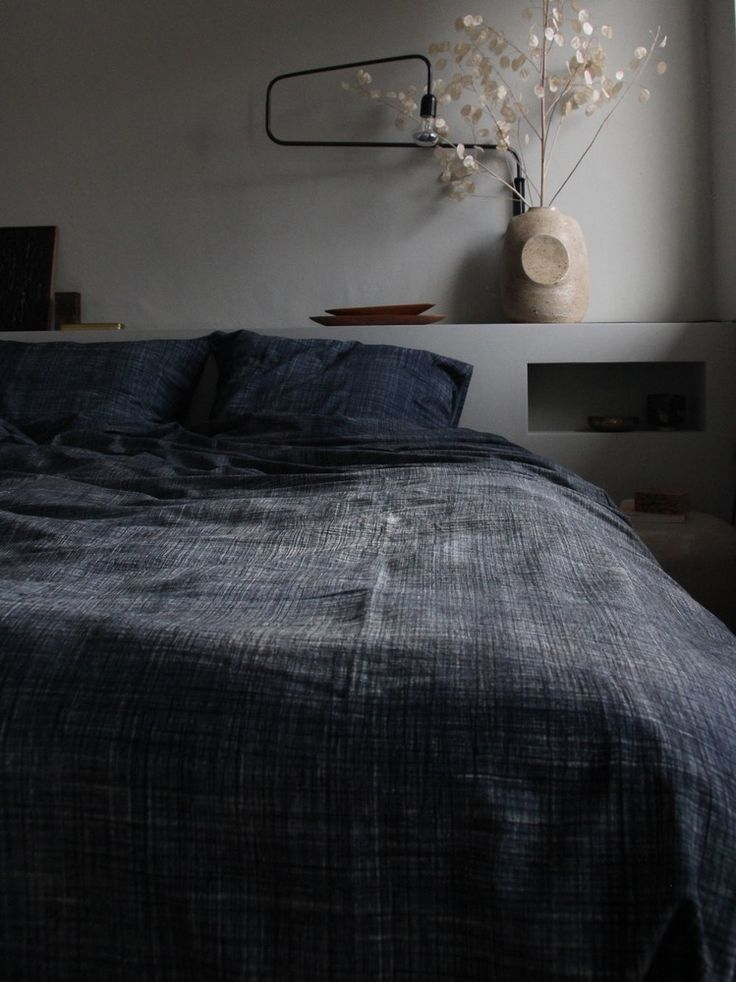 Image of duvet cover (greyish blue)