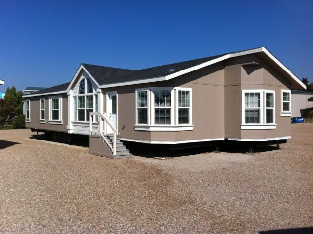 A manufactured home exterior paint colors pinterest nice home and the o 39 jays for Images of manufactured homes interior and exterior