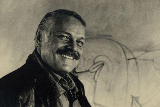Jose Luis Cuevas, en 1992/Museo Jose Luis Cuevas  El abandono de un pintor genial | Cultura | EL PAÍS