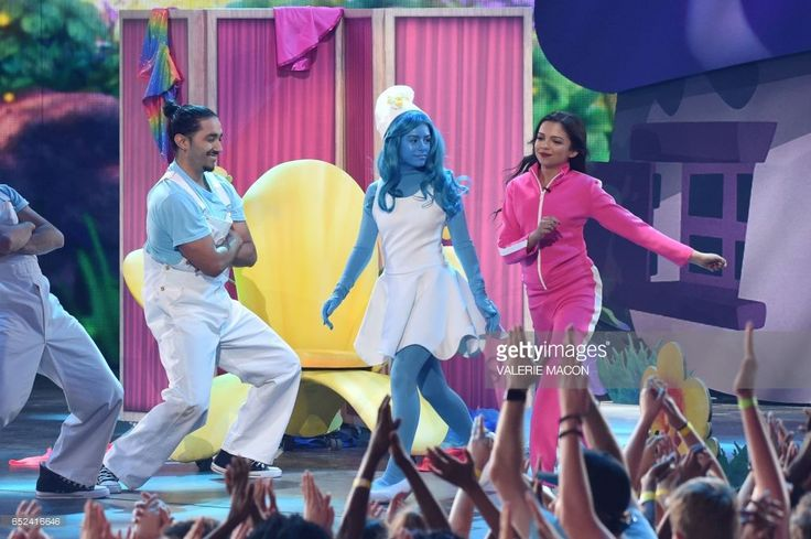 Actor Cree Cicchino dances on stage at the 30th Annual Nickelodeon Kids' Choice Awards, March 11, 2017, at the Galen Center on the University of Southern California campus in Los Angeles. /