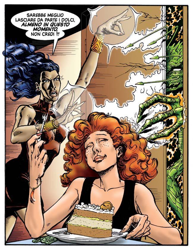 Le due streghe titolari dell'Agenzia Incantesimi. Witches of Spells Agency ---DanieleTomasi