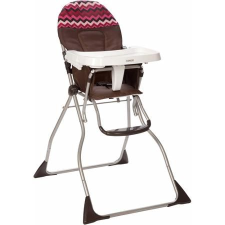cosco flat fold high chair chevron raspberry 29 save 26