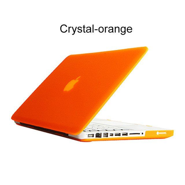 Crystal Matte Hard Surface Full Protective Laptop Cover Case for Macbook Air 11 13 Pro 13 15 Pro Retina 12