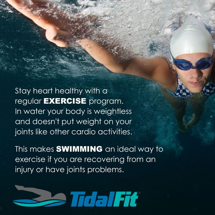 Stay #heart #healthy with a TidalFit Exercise Pool. Discover the many health benefits here: www.TidalFit.com
