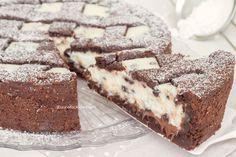 crostata al cacao con ricotta e nutella 1