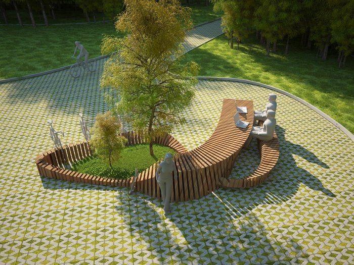 Дизайн малых архитектурных форм