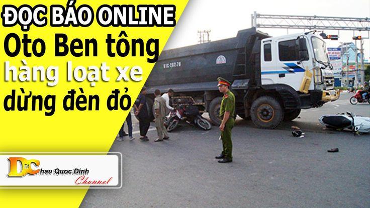 Tin tức 24h - O to Ben tông hàng loạt xe dừng đèn đỏ - Đọc báo Online