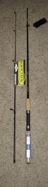 Spinning Rods 36150: 2 New Shimano Solara Spinning Fishing Rods 6 6 Med Sls66m2 -> BUY IT NOW ONLY: $35.99 on eBay!