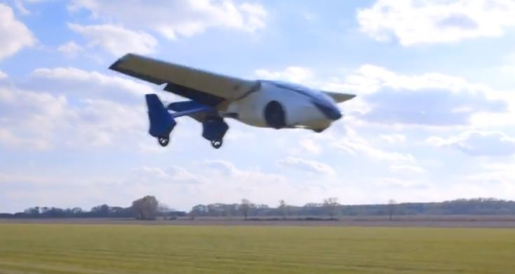 Get ready to take your flying car for a spin…