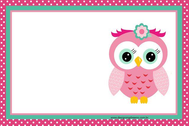 Buhita Rosa: Invitaciones y Etiquetas para Candy Buffet para Imprimir Gratis.