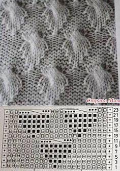 Leaf Stitch örgü modelleri yelek bebek