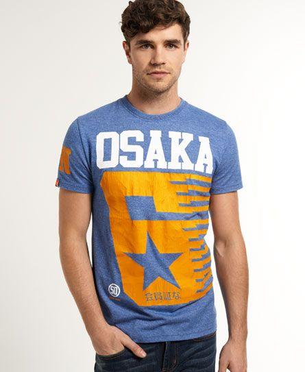 """極度乾燥しなさいのアイテム メンズ Tシャツ """"OSAKA""""のロゴ以上に気になる""""会員証な"""""""