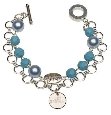 Chandelier - Light Blue and Turquoise – Jet Empire