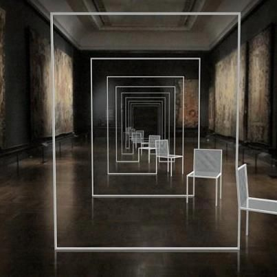 Nendo, Mimicry chairs. Victoria & Albert Museum, 2012 #MIRROR