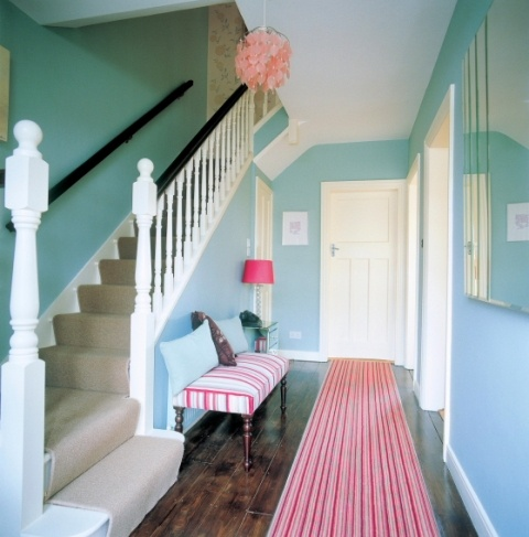 1000 images about stairs on pinterest entry ways for Best colour for hall