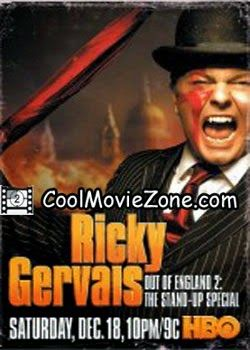 Ricky Gervais: Out of England 2 – The Stand-Up Special: John Moffitt Director of the movie Ricky Gervais: Out of England 2 – The Stand-Up Special